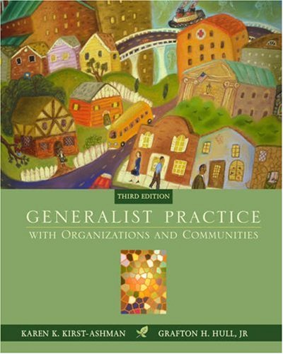 Generalist Practice with Organizations and Communities  3rd 2006 (Revised) 9780534506292 Front Cover