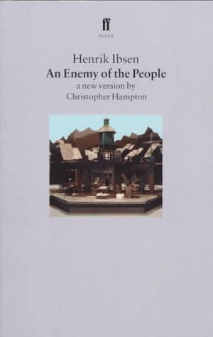 Enemy of the People A New Version by Christopher Hampton  1997 edition cover