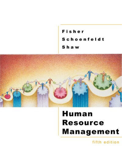 Human Resource Management  5th 2003 9780618123292 Front Cover