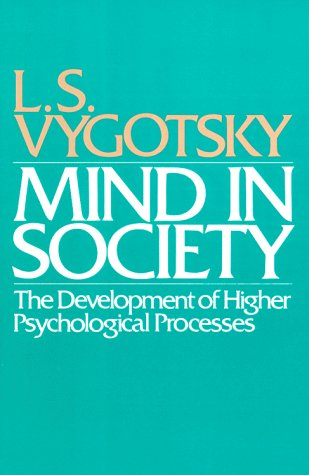 Mind in Society The Development of Higher Psychological Processes  1978 edition cover