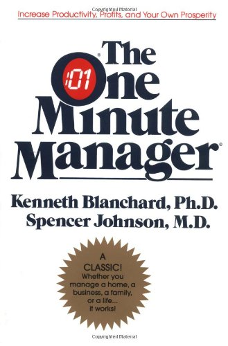 One Minute Manager   2003 (Anniversary) 9780688014292 Front Cover