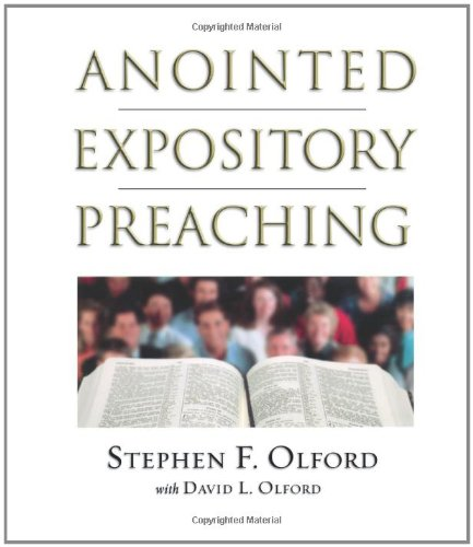 Anointed Expository Preaching   2003 edition cover
