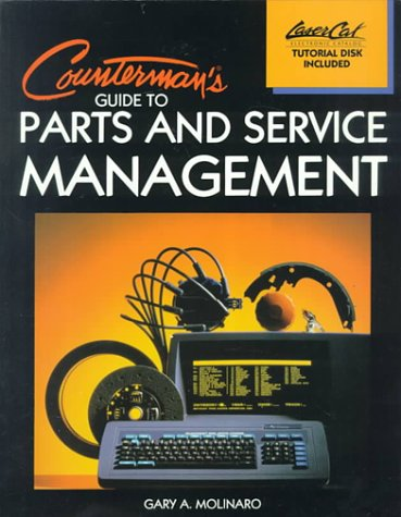 Counterman's Guide to Parts and Service Management   1989 edition cover