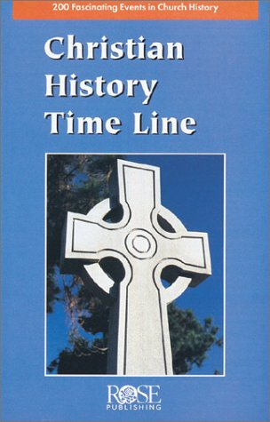 2,000 Years of Christian History at a Glance! Christian History Time Line Pamphlet N/A edition cover