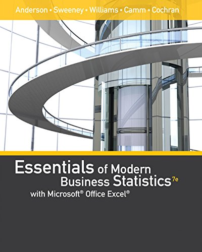 Essentials of Modern Business Statistics With Microsoft Office Excel With Xlstat Education Edition Printed Access Card:   2017 9781337298292 Front Cover