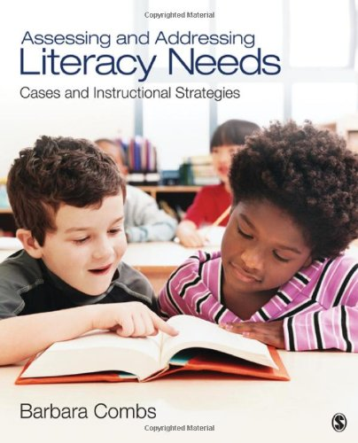 Assessing and Addressing Literacy Needs Cases and Instructional Strategies  2012 edition cover