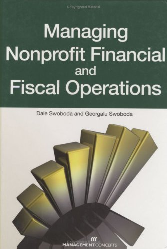 Managing Nonprofit Financial and Fiscal Operations  2009 9781567262292 Front Cover