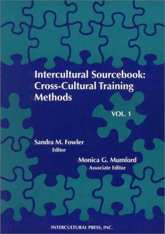 Intercultural Sourcebook Cross-Cultural Training Methods  1994 edition cover