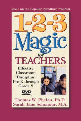 1-2-3 Magic for Teachers: Effective Classroom Discipline Pre-k Through Grade 8  2010 edition cover