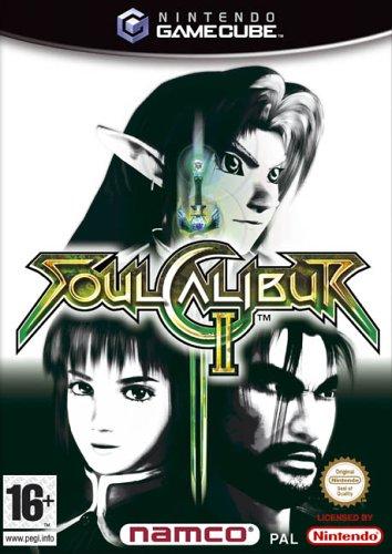 SoulCalibur II (GameCube) GameCube artwork