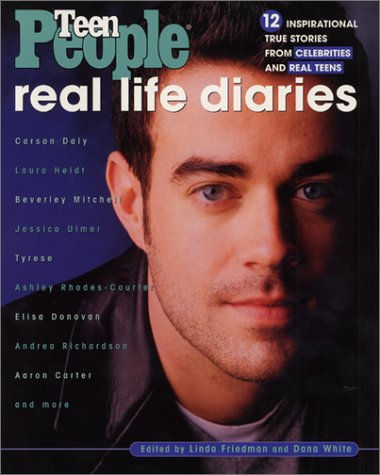 Real Life Diaries 12 Inspirational True Stories from Celebrities and Real Teens  2001 9780064473293 Front Cover
