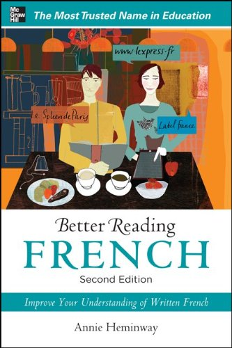 Better Reading French  2nd 2012 edition cover