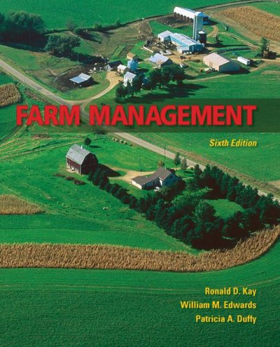 Farm Management  6th 2008 (Revised) edition cover