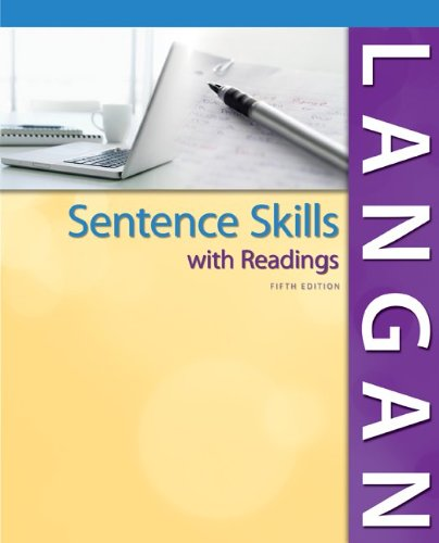 Sentence Skills with Readings  5th 2014 edition cover
