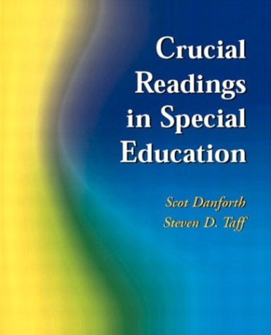 Crucial Readings in Special Education   2004 edition cover