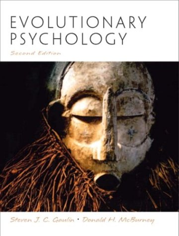 Evolutionary Psychology  2nd 2004 (Revised) edition cover