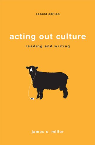 Acting Out Culture Reading and Writing 2nd 2011 edition cover