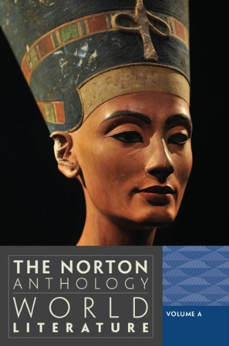 Norton Anthology of World Literature  3rd 2012 edition cover