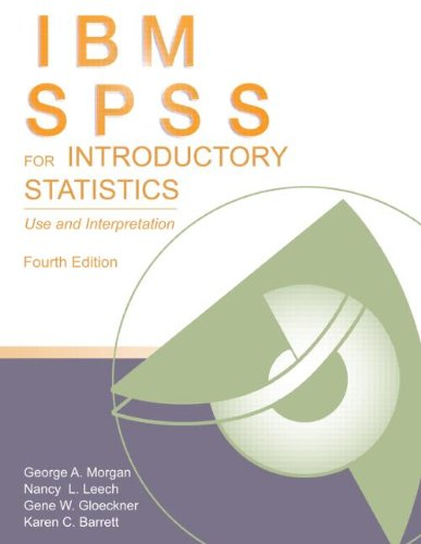 PASW/SPSS for Introductory Statistics Use and Interpretation 4th 2011 (Revised) edition cover