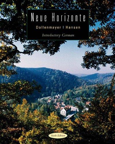 Neue Horizonte  6th 2003 edition cover