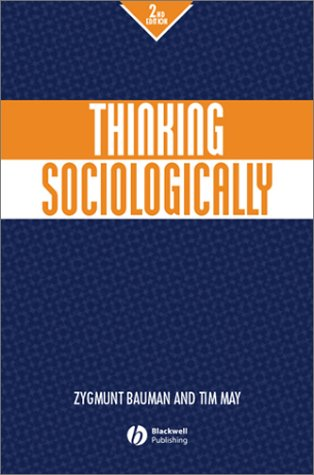 Thinking Sociologically  2nd 2001 (Revised) edition cover