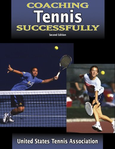 Coaching Tennis Successfully  2nd 2004 (Revised) edition cover