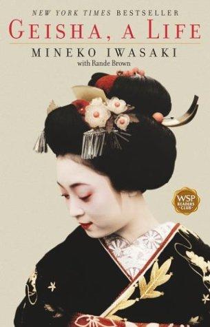 Geisha A Life  2003 edition cover
