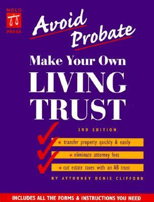 Make Your Own Living Trust  3rd (Revised) 9780873374293 Front Cover