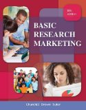 Basic Marketing Research  8th 2014 edition cover