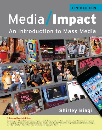 Media Impact An Introduction to Mass Media, 2013 Update 10th 2013 9781111835293 Front Cover