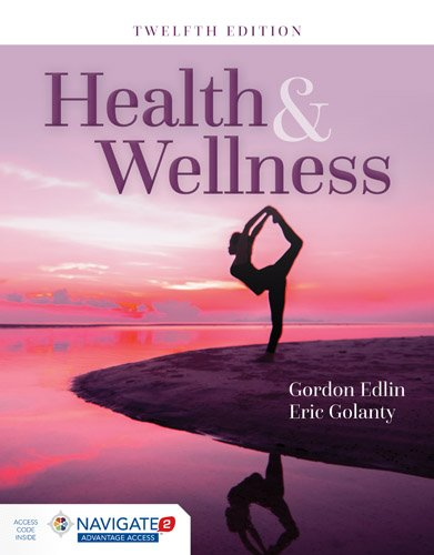 Health and Wellness  12th 2016 9781284067293 Front Cover