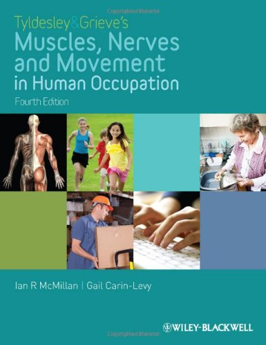 Muscles, Nerves and Movement in Human Occupation  4th 2012 9781405189293 Front Cover
