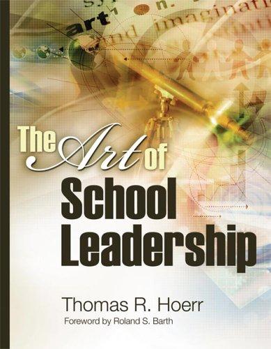 Art of School Leadership   2005 edition cover