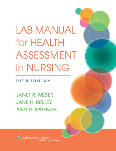 Lab Manual for Health Assessment in Nursing  5th 2014 (Revised) edition cover