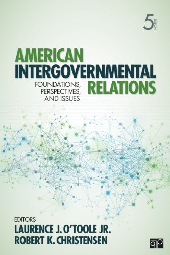American Intergovernmental Relations  5th 2013 (Revised) edition cover