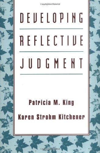 Developing Reflective Judgment   1994 edition cover