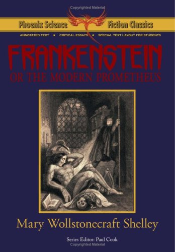 Frankenstein - Phoenix Science Fiction Classics   2009 edition cover