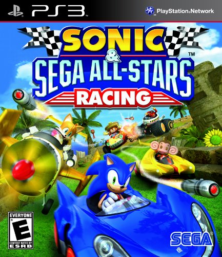 Sonic Sega All Star Racing PlayStation 3 artwork