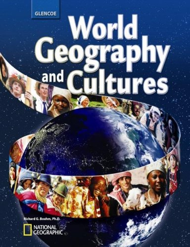 World Geography and Cultures   2008 9780078745294 Front Cover