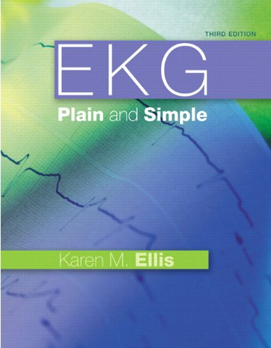 EKG Plain and Simple  3rd 2012 edition cover