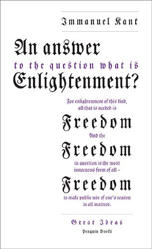 Answer to the Question 'What Is Enlightenment?'  2009 9780141399294 Front Cover