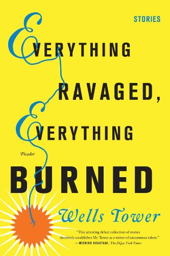 Everything Ravaged, Everything Burned Stories  2010 edition cover