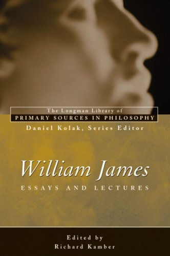 William James Essays and Lectures  2007 edition cover