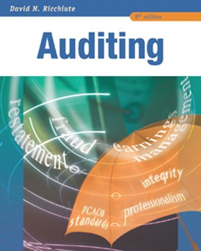Auditing  8th 2006 edition cover