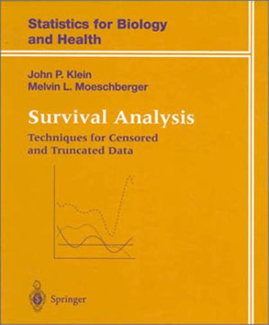 Survival Analysis  N/A edition cover
