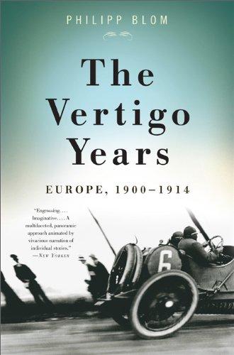 Vertigo Years Europe, 1900-1914  2010 edition cover