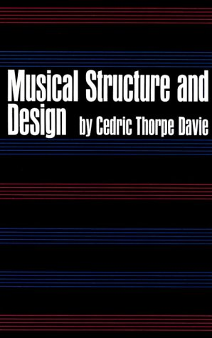 Musical Structure and Design   1966 edition cover