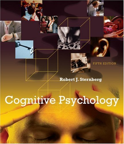 Cognitive Psychology  5th 2009 edition cover