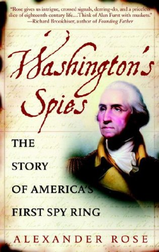 Washington's Spies The Story of America's First Spy Ring N/A 9780553383294 Front Cover