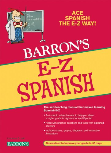 E-Z Spanish  2nd 2009 (Revised) 9780764141294 Front Cover